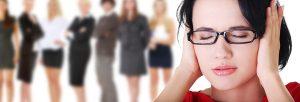 een meisje met angsten hypnose die verholpen kunnen worden methypnotherapie